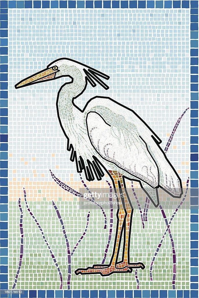 Heron : Vector Art