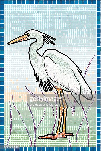 Heron : Vector Art