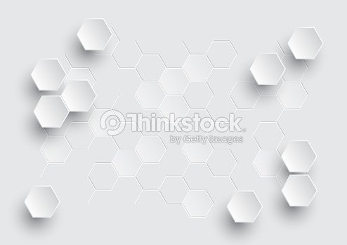 Hexagonal geometric abstract background. : stock vector