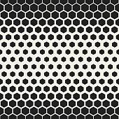 Hexagonal geometric pattern. Abstract vector illustration
