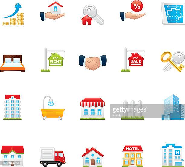 Hico icons — Real Estate