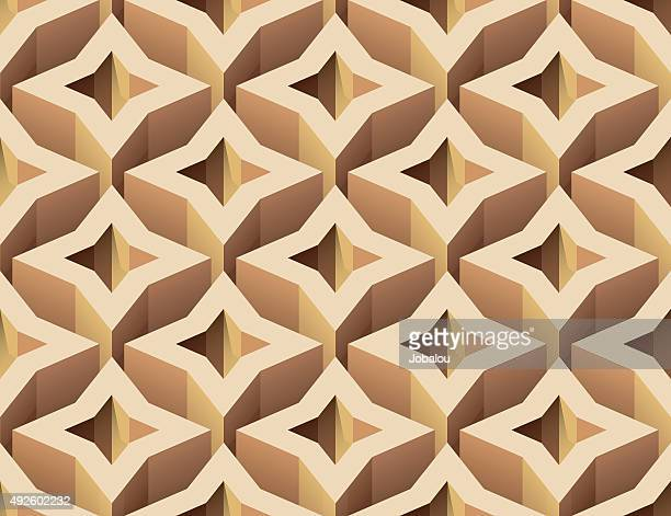 High Abstract Shapes Seamless