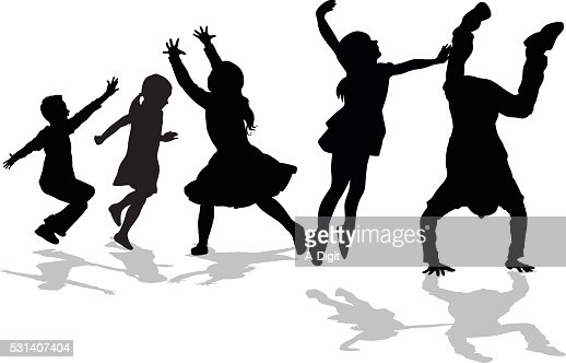 High Energy Triangle Kids Vector Art | Getty Images
