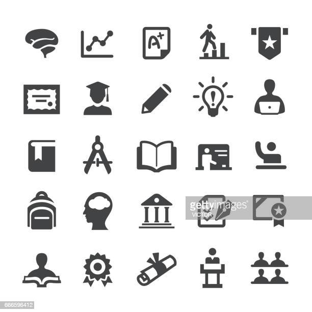 Higher Education Icons - Smart-Serie