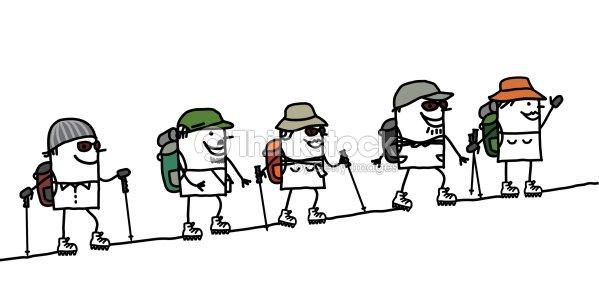 cliparts randonnée pédestre - photo #5