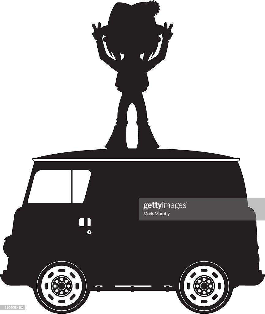 bc0e1705816 Hippie silhouette
