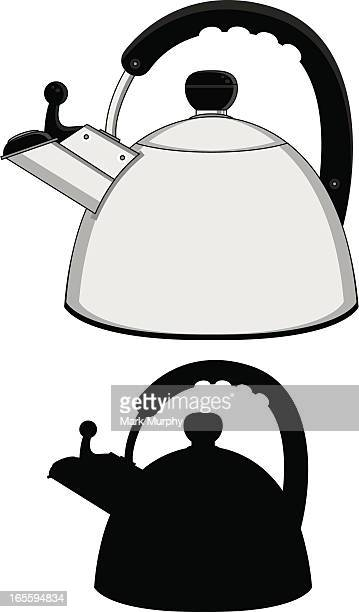 Kitchen Hob Cartoon ~ Kettle stock illustrations and cartoons getty images