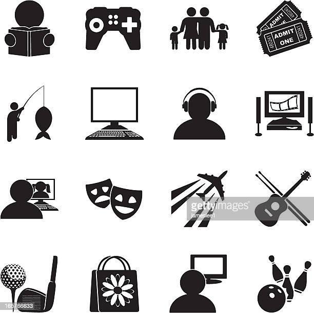Hobbies Icon Set