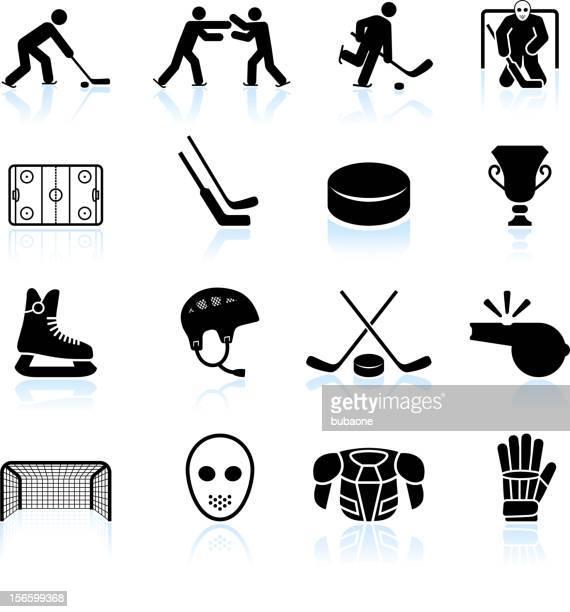 Illustrations et dessins anim s de hockey sur glace getty images - Dessin patinoire ...