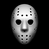 Hockey mask vector illustration