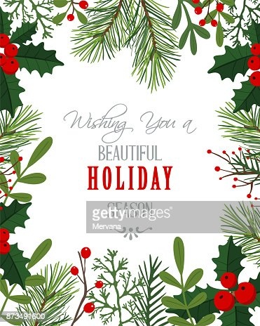 Holiday Background : Vector Art