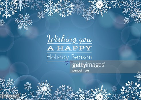 Holiday Greeting : Vector Art