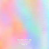Holographic foil vector illustration ESP 10