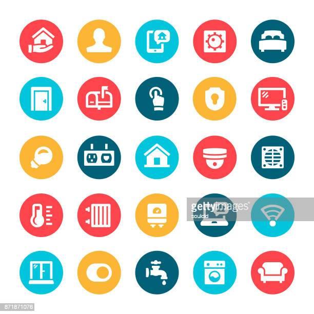 Huisautomatisering pictogrammen