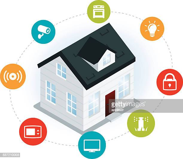 Home Automation Illustration