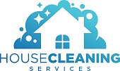 an amazing cleaning service business illustration