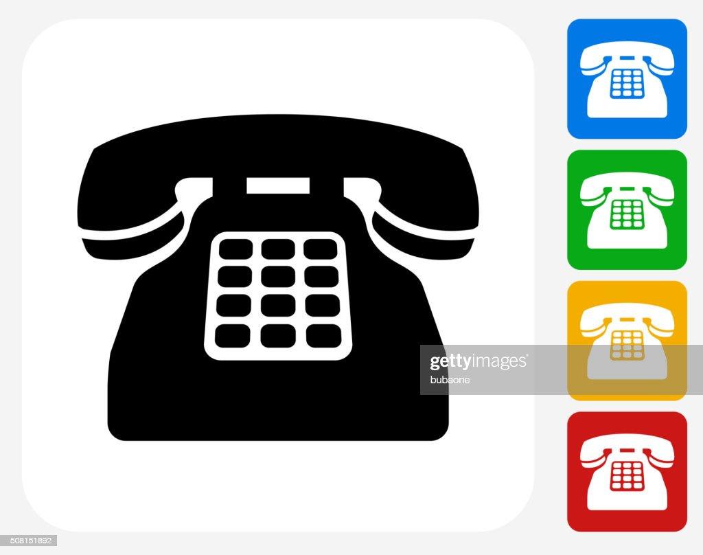 Home phone symbol for Telefono oficina
