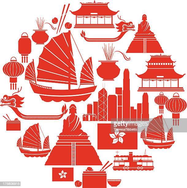 Hong Kong Icon-Set