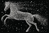 Horse symbol for New year