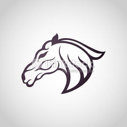 Horse Symbol Vector Icon Design Vector Art Thinkstock