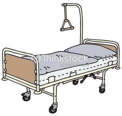 letto da ospedale arte vettoriale thinkstock