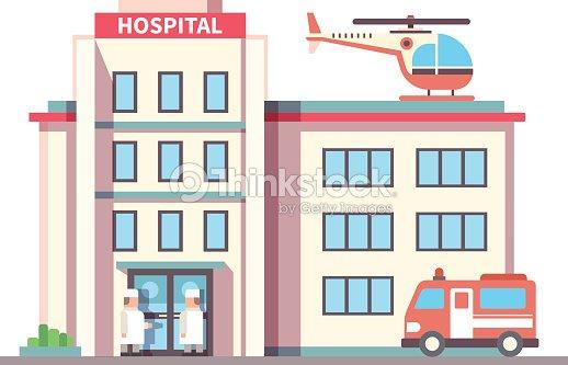 Edificio del hospital de estilo plano arte vectorial thinkstock edificio del hospital de estilo plano arte vectorial malvernweather Images