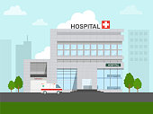 small hospital in the city.