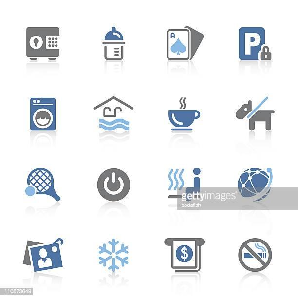 hotel amenity icons | azur series
