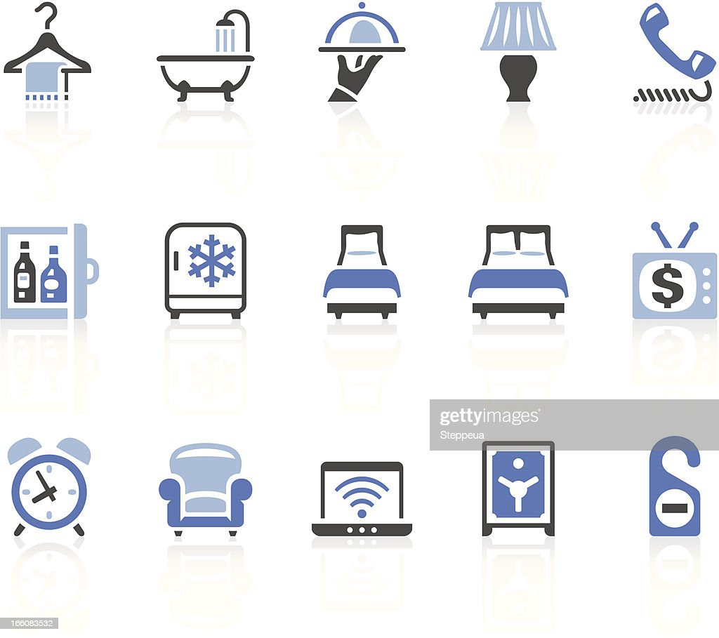 Furniture icons vector art getty images - Hotel Icons Vector Art Getty Images