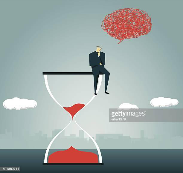 Hourglass,Depression,Deadline, Countdown, Waiting