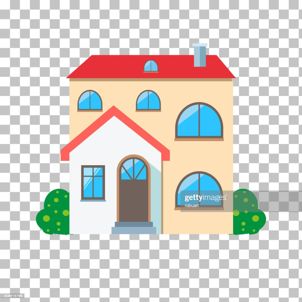 House Home Icon : Vector Art