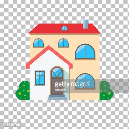 House Home Icon : Vector Art