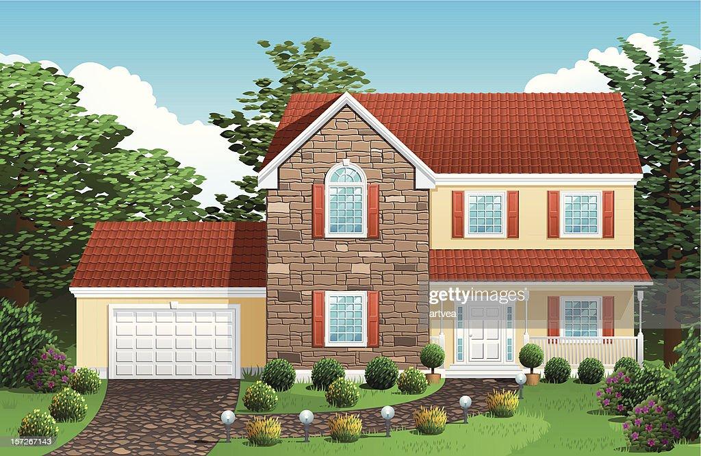 House : Vector Art