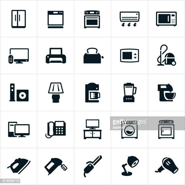 Iconos de aparatos domésticos