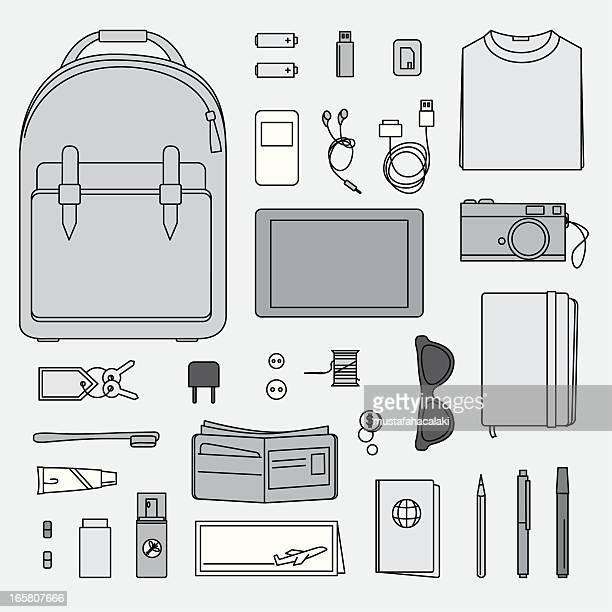 How to prepare a backback
