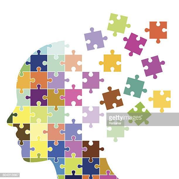 Menschlicher Kopf Konzept