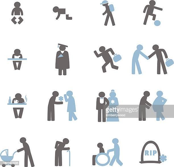 Menschliche Leben-Symbol