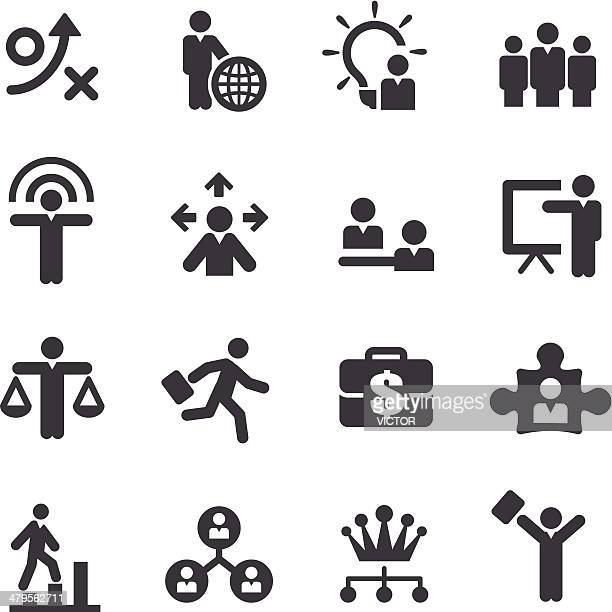 Human Resource, Business and Strategy Icons - Acme Series