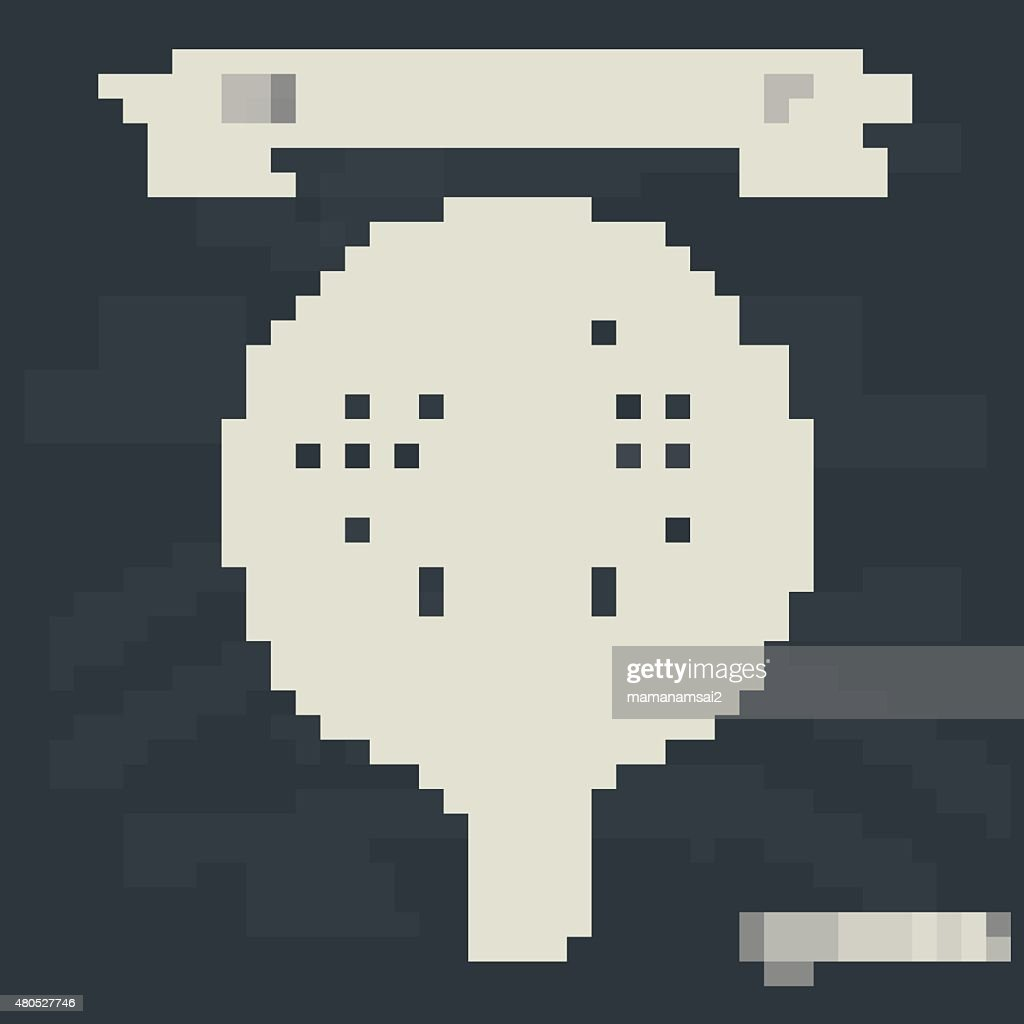 Human resource Konzept auf Tafel Hintergrund, Vektor : Vektorgrafik