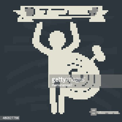 Human resource concept on blackboard background,vector : Vector Art