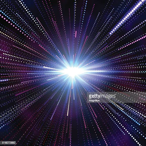 Hyperspace Abstract Background