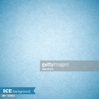 Ice scratched background, texture, pattern. Vector illustration : stock vector