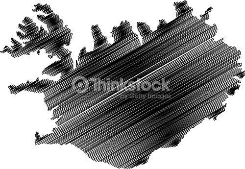Iceland Map Vector stock vector | Thinkstock