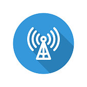 Icon illustration for the mobile network
