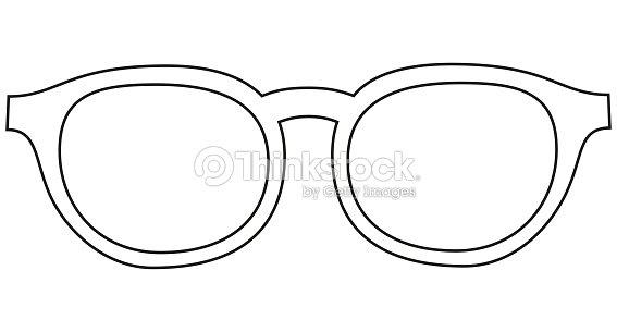 d4226ebe13d95b Icône ligne art affiche homme père papa jour lunettes, lunettes.   Clipart  vectoriel
