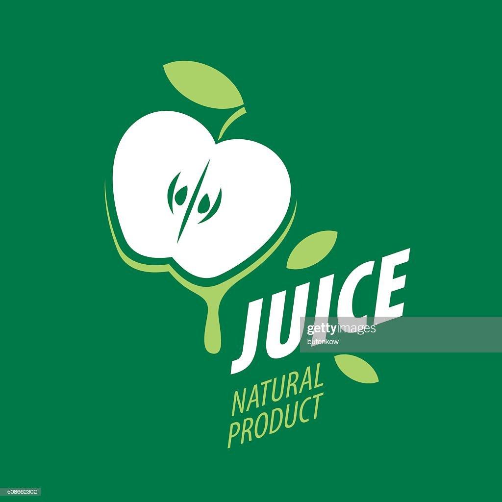 icon of fresh juice : Vector Art