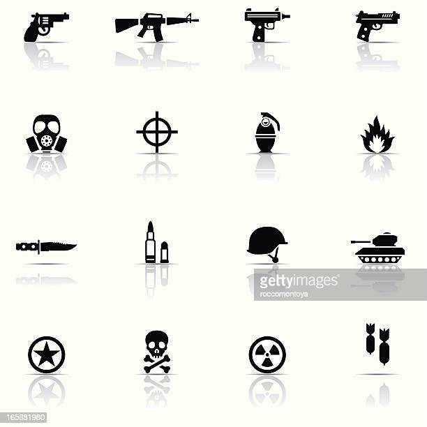 Icon set, Army
