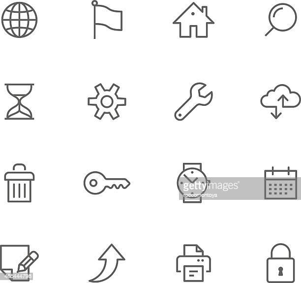Icon Set, Web