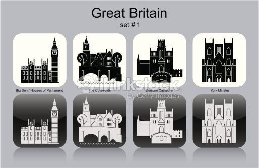 icons of great britain vector art thinkstock