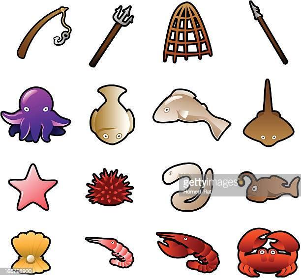 Icons - Sea life